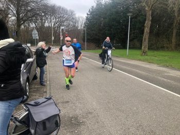 André Blok loopt Virtual HMZ Running in 1:47:25